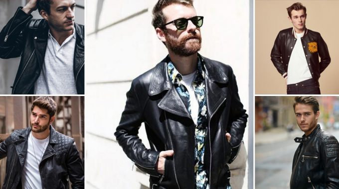 Leather Jacket Tomahawkpomade